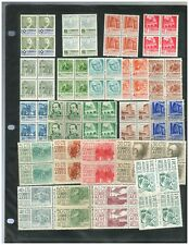 1674 MEXICO Collection 48 Blocks 4 MNH Archeology & Architecture Issue 1950-1975