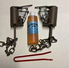2 Duke Dp Dog Proof raccoon kit ,1 Dp setter & 1 Liquid Gold Bait trap New Sale