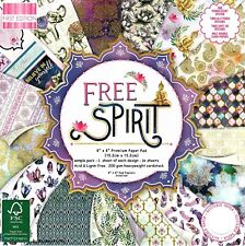 DOVECRAFT ALL THAT GLISTENS  PAPERS 6 X 6 SAMPLE PACK 1 OF EACH DESIGN 16 SHEETS