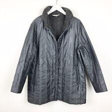Vinatge Giorgio Armani Women's Size 10 Alpaca Blend Bomber Grunge Jacket Coat