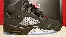 NIKE AIR JORDAN 5 RETRO OG Size 7 Red Black White 845035-003 Mens Ball Shoes