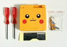 Replacement Housing for Nintendo GBA Game Boy Advance SP Shell Pikachu Yellow