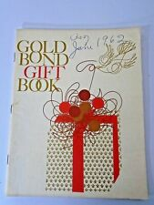 Vintage 1962 Gold Bond Gift Book Catalog ~ Mid Century Decor Reference Ideas