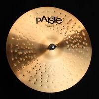 """Paiste 20"""" Prototype 2002 Ride - 2131g (video demo)"""