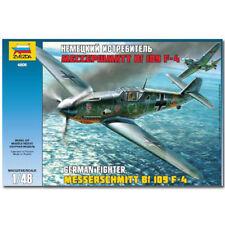 Zvezda 4806 MESSERSCHMITT BF-109 F4 Kit de modèle avion 1, 48