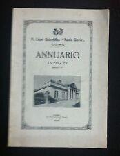 1926  LICEO SCIENTIFICO PAOLO GIOVIO COMO