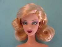 Nude Barbie Doll Midnigth Tuxedo Blonde MAckie For OOAK .
