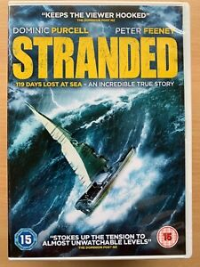 Stranded DVD 2015 True Life New Zealand Kiwi Timaran Barco Diaster Película