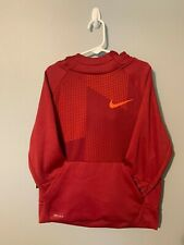 Nike -Boys- Red - Therma Dri-Fit Pull Over Hoodie - Sz Small