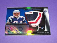 2011 Topps Platinum SHANE VEREEN #16 Rookie Patch Autograph/75 Patriots - Giants