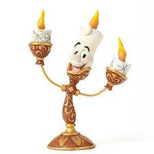 Disney Traditions Jim Shore Beauty the the Beast 25th Lumiere Oh La La Figurine