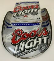 Vintage Official COORS Beer Silver Bullet Carton Party Hat Man Cave 2007 Nice