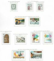 s34233 FINLAND 1983 MNH** Complete year set 21v