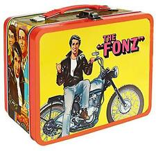 1 Case (6pcs) Happy Days The Fonz Tin Tote - Entertainment Earth