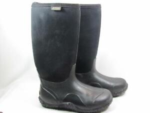 Bogs Classic High Tall Waterproof Boot Women size 8 Black