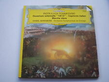 tchaikovski ouverture solennelle /barenboim lp vinyle classique deutsche grammop