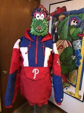 Rare Vintage Philadelphia Phillies Starter Jacket XL Large L Zip Pullover MLB ⚾️