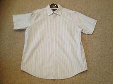 Ben Sherman Men's Casual Shirt Adult Medium Pale Blue Striped (HNG)