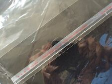 "500 9x12"" SELF SEAL FLAP TAPE CLEAR BAGS POLY PROPYLENE OPP 1mil cloth/nagazine"