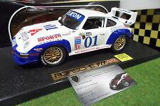 PORSCHE 911 GT2 #01 ROLEX AT DAYTONA 1/18 ANSON 30326 voiture miniature