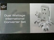 New Sharper Image Dual Wattage International Converter FZ508 220v to 110v W/CASE