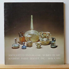 Sotheby's Antiquities and Islamic Works of Art 5/8/1976 Glass Ceramics Bronze