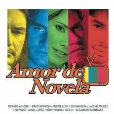 Various Artists : Amor De Novela CD