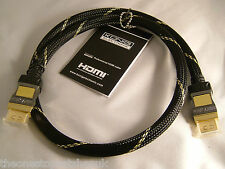 Konig Certified Professional V1.4 Gold High Speed 3D Ethernet  0.7m HDMI Cable