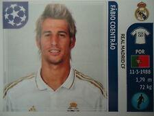 Panini 216 Fabio Coentrao Real Madrid UEFA CL 2011/12