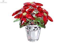 Swarovski Christmas Poinsettia Crystal - Large - RETIRED  - 1139997 - NIB