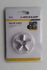 5x bouchon de valve, pneu,argenté