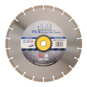 "PDP P3-B PREMIER 3 Star Diamond Blade for Concrete 300mm ( 12"")"