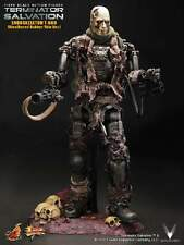 Hot Toys MMS104 Terminator Salvation T-600 Weathered Rubber Skin Version