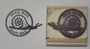 Snail Mail Postmark rubber stamp by Amazing Arts awesome!
