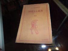 Hellas tome 3. Manuel grec: méthodes et exercices. CH.Georgin