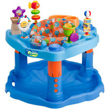 ExerSaucer Activity Center 3-Position Adjustable Height W/ Removable Seat Pad