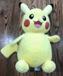 "BAB Build-A-Bear Pokemon Pikachu Plush Stuffed Toy 18"" Yellow"