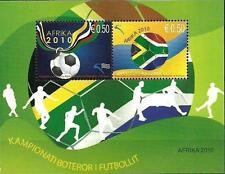 Kosovo Stamps 2010. World Championship Football - South Africa. Block MNH.