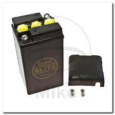 Batterie 6V12AH schwarz mit Deckel BMW R 50 /2 R50