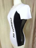 Maillot t-shirt sport femme MIM Neuf avec étiquette Taille S FR36 US4 UK8 EUR34