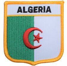 "Algeria Patch - North Africa Badge 2.75"" (Iron on)"