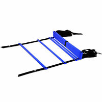 YES4ALL AGILITY LADDERS 12 RUNGS BLUE SPEED LADDER TRAINING SOCCER FEET SPORTS