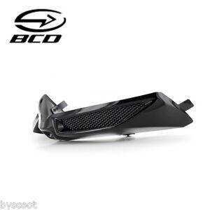 Prise d'air BCD YAMAHA T-Max 530 Tmax grille noir brillant face avant NEUF