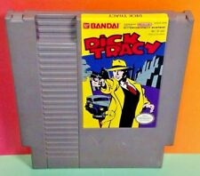 Dick Tracy *Authentic* Nintendo Nes Game Free Ship! Tested Bandai