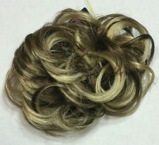 """Scrunchie 3"""" Long Curly Synthetic Hair Ponytail Holder Hairpiece - Choose Color"""