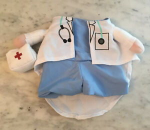 Dog Cat Pet Halloween Costume Dog Carrying Costume Cat Medical Doctor Sz Small