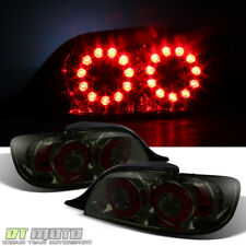 Smoke 2004-2008 Mazda Rx-8 Rx8 LED Tail Lights Rear Brake Lamps 04-08 Left+Right