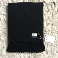 Women's Ladies Winter Warm Cashmere Blend Solid Long Pashmina Shawl Wrap Scarf
