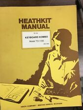 Heathkit TO-1102 original manual