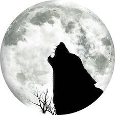 4x4 Spare Wheel Cover 4 x 4 Camper Graphic Vinyl Sticker Wolf Wolves WO6